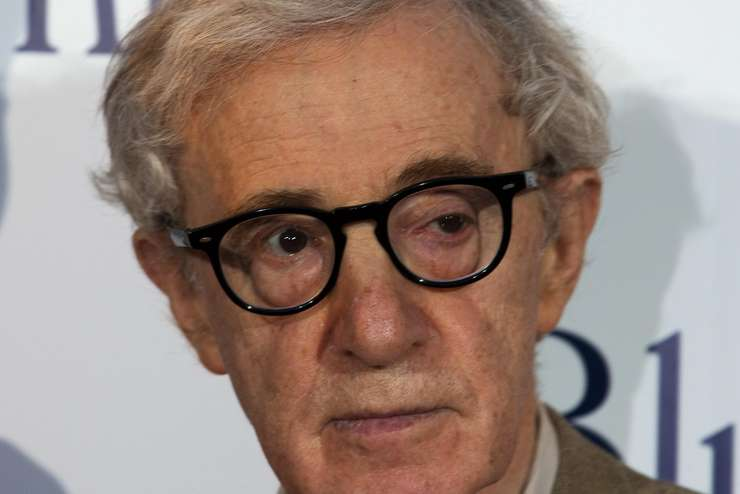 Cineastul american Woody Allen