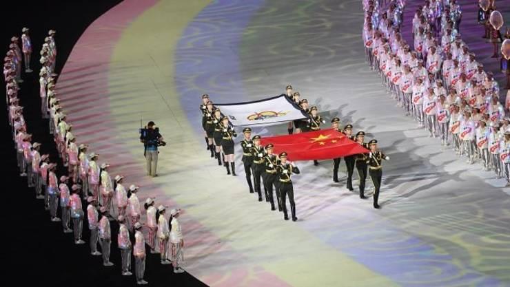 Ceremonia de deschidere a Jocurilor mondiale militare, Wuhan, 18 octombrie 2019