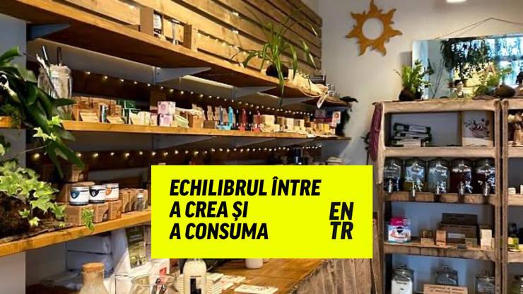 Zero deseuri -zero waste shop in Bucharest