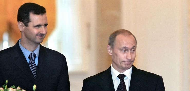 Bashar al Assad și Vladimir Putin