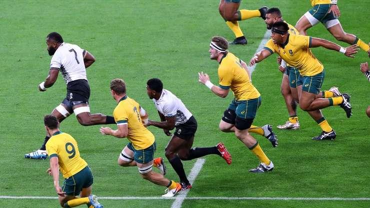 Australia 39 Fiji 21