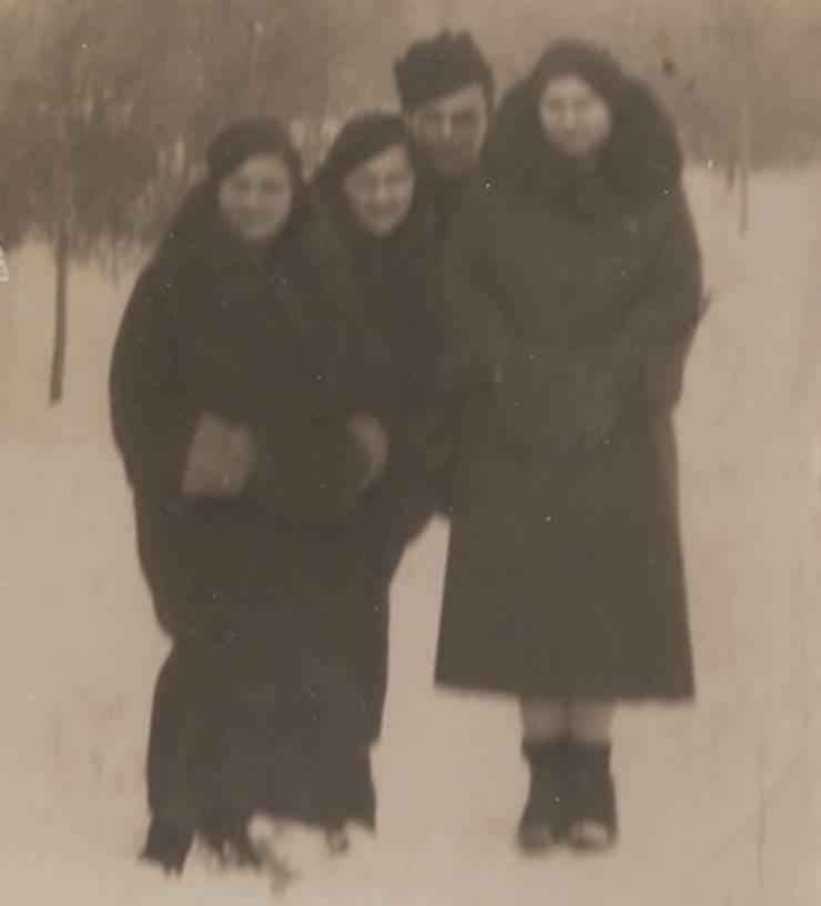 Familia Goligorsky în Basarabia, 1938