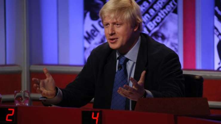 Boris Johnson la BBC
