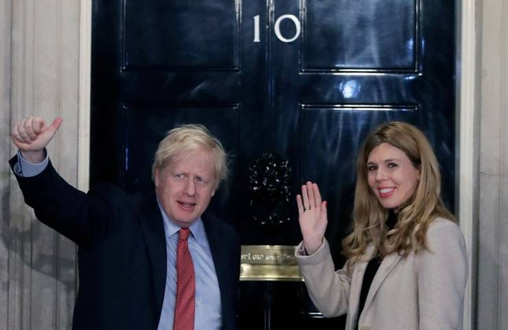 Boris Johnson și Carrie Symonds