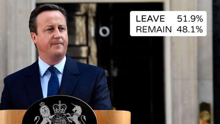 David Cameron și-a anunțat demisia imediat după aflarea rezultatului referendumului