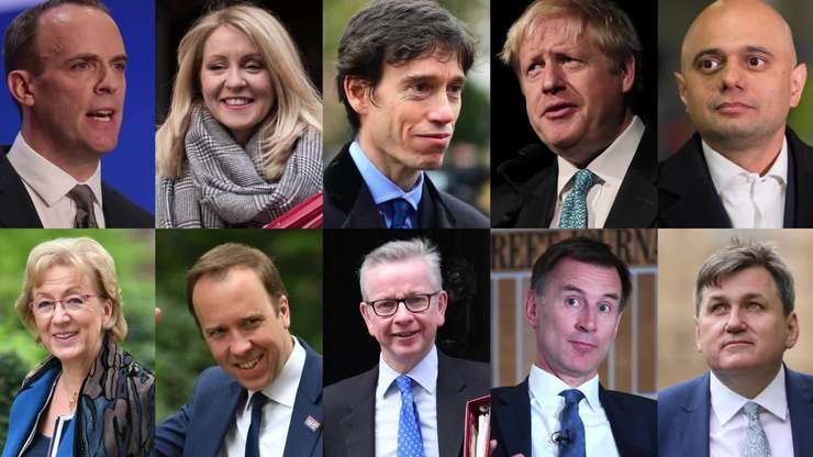 Candidații la funcția de lider al Partidului Conservator