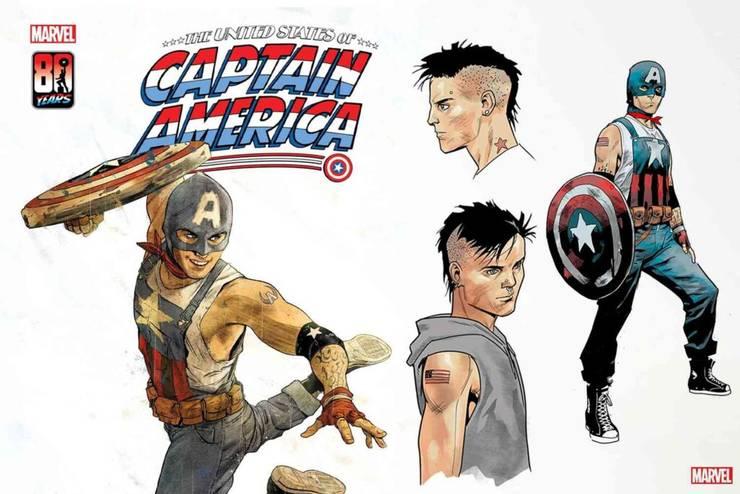 Aaron Fischer, primul Captain America membru al comunitàtii LGBT.