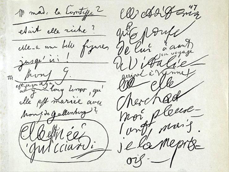 Carte de conversație a lui Beethoven surd