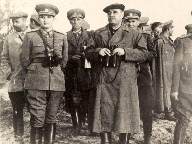Nicolae Ceaușescu și Gheorghe Gheorghiu Dej