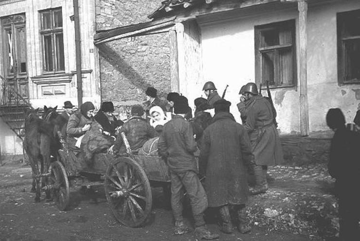 Evrei din Chișinău deportați, 28 octombrie 1941