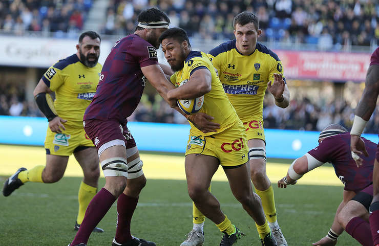Clermont 40 Bordeaux Begles 15
