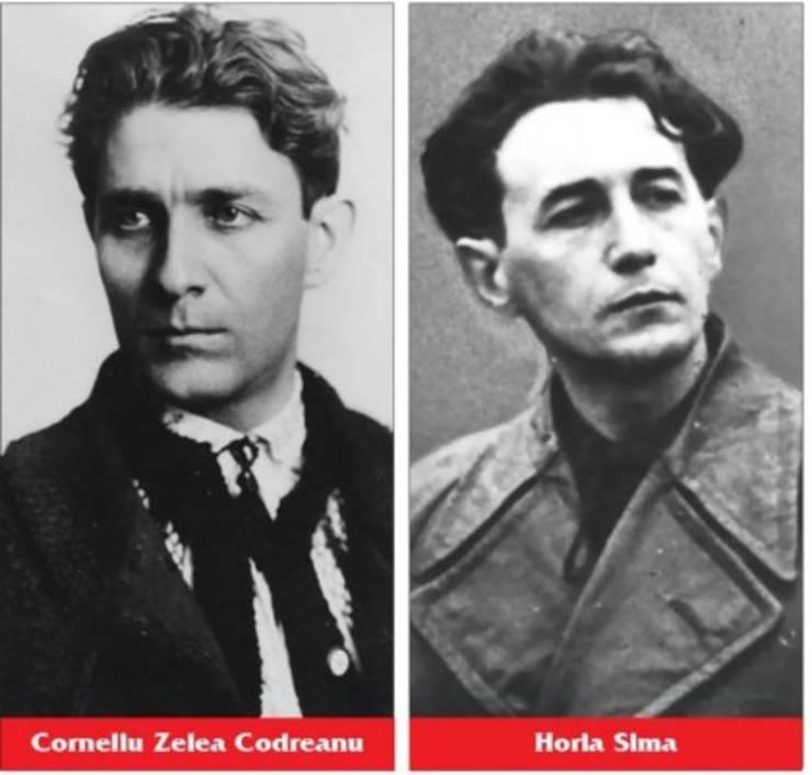 Corneliu Zelea Codreanu și Horia Sima