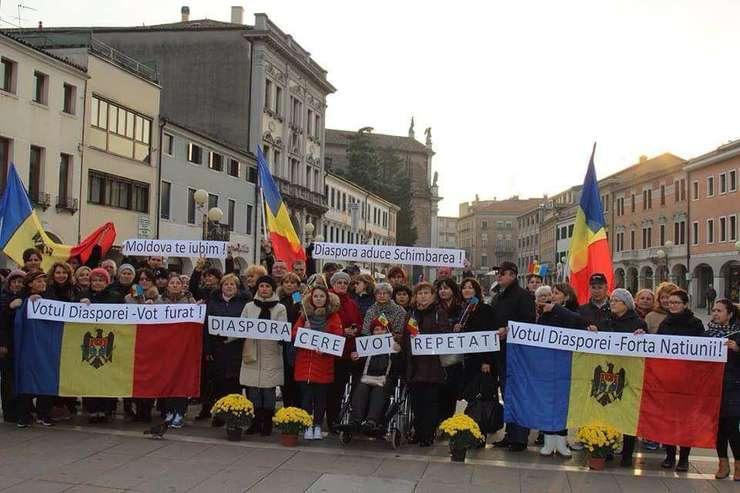 Demonstrație de protest la Veneția