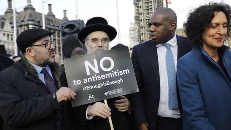 Demonstrație împotriva antisemitismului la Londra
