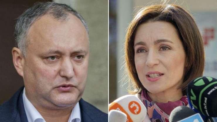 Igor Dodon a învins-o pe Maia Sandu în alegerile prezidențiale