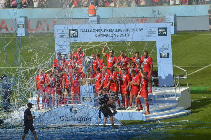Saracens din nou campionii Angliei