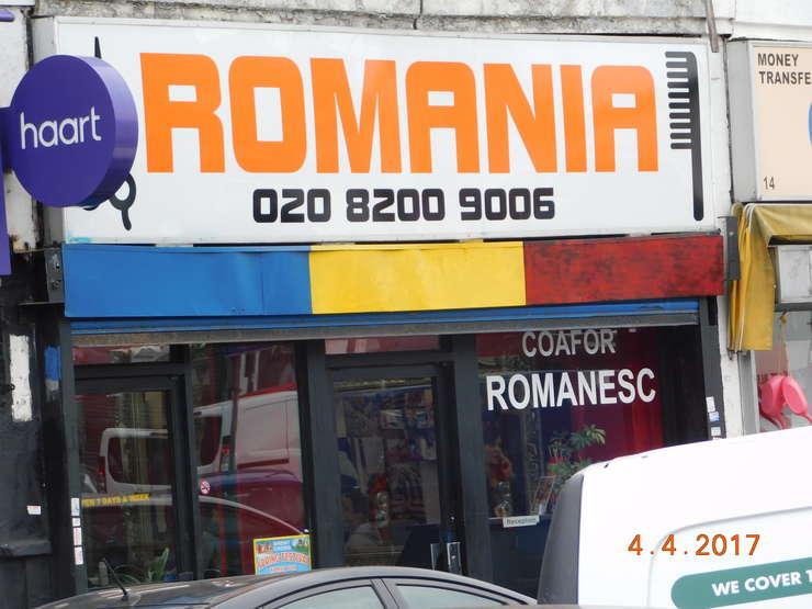 Magazin românesc din Londra