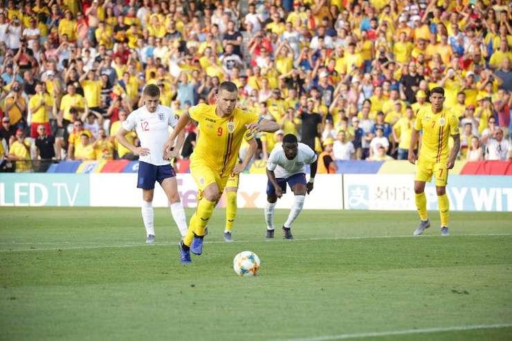 România, cu un pas în semifinalele EURO 2019 U21 (Sursa foto: site FRF)