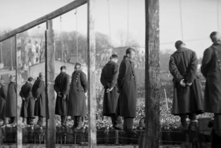 Execuții naziști Kiev 1946