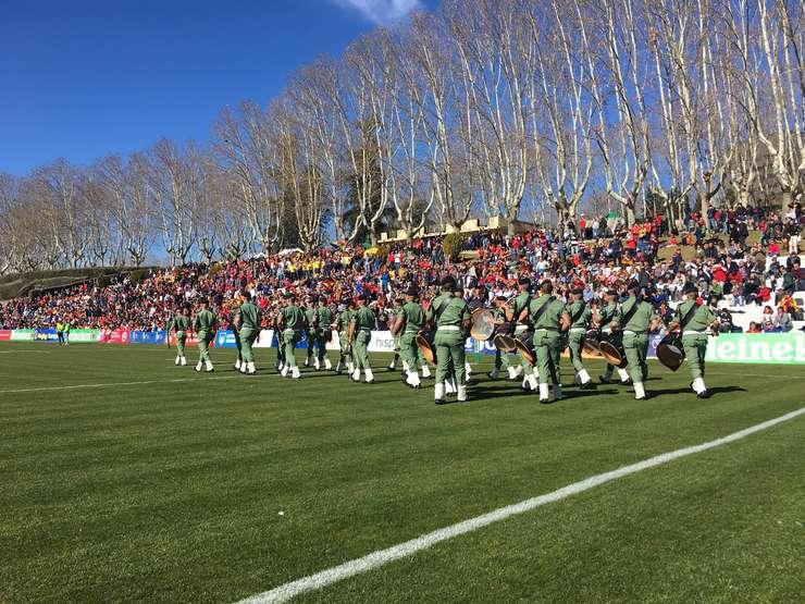 Fanfară militară Madrid, Stadio Complutense