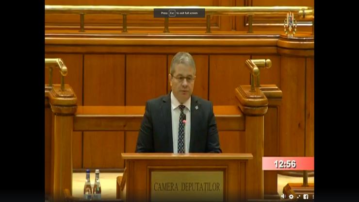 Florian Bodog critică Guvernul PNL (captură video)