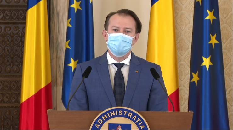 Cabinetul Florin Cîțu, cu 18 ministere dintre care o singura femeie ministru primeste votul Parlamentului.