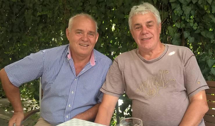Mircea Paraschiv și Colin Riley
