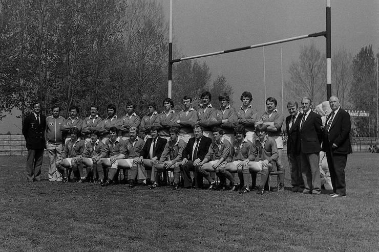 Leinster la Constanța în 1980