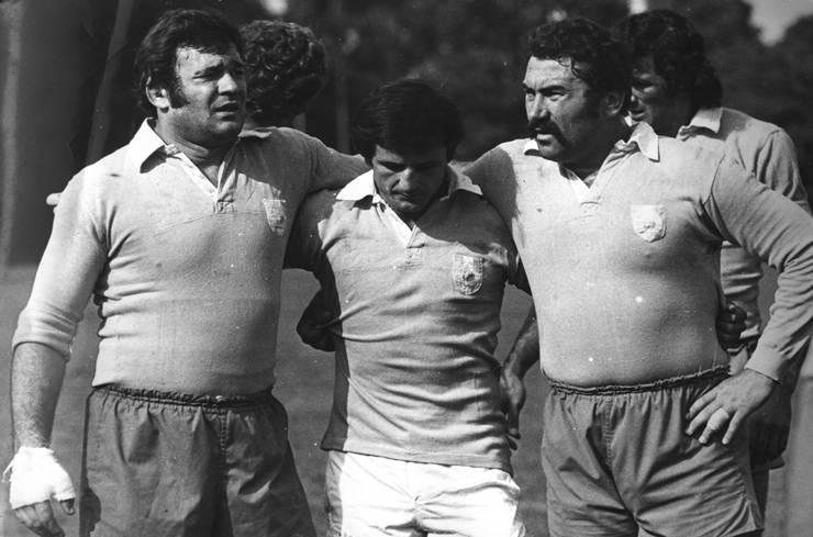 (de la stânga la dreapta) Cornel Scarlat, Mircea Munteanu, Constantin Dinu