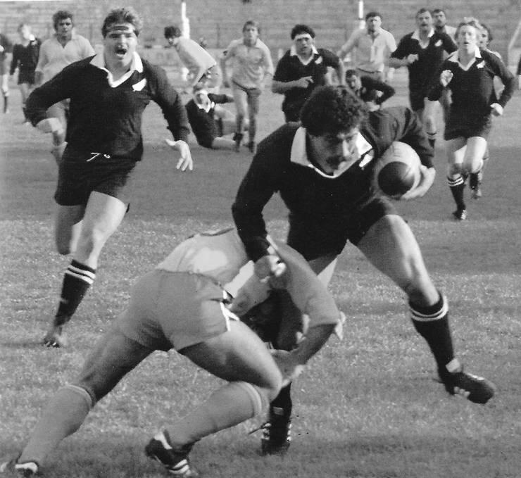 România Sud - Noua Zeelandă, 1981