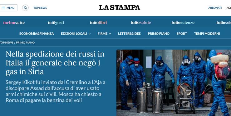 Armata italiană curăță o reședință pentru bătrâni cu dezinfectanți