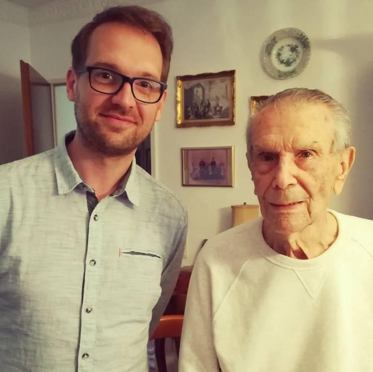 Dominic Samuel Fritz cu Geza Kornis