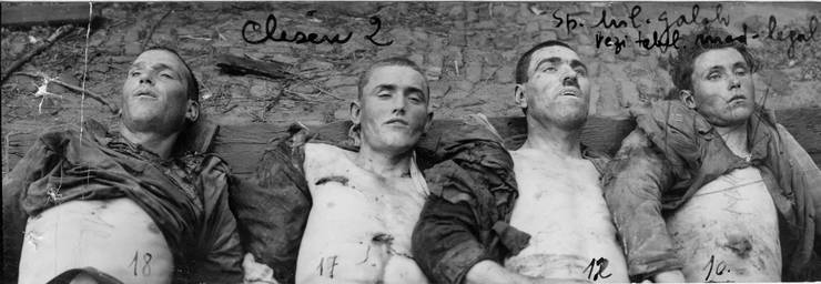 Victime ale masacrului de la Galați