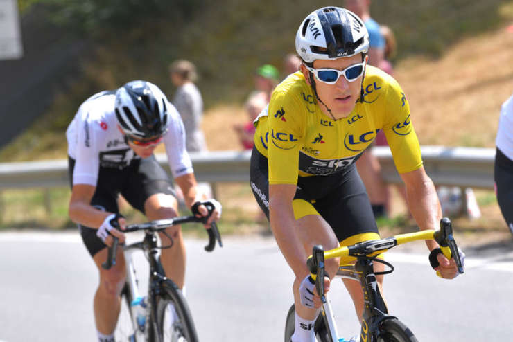 Chris Froome și Geraint Thomas