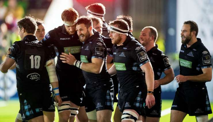 Glasgow Warriors 37 Benetton Treviso 21