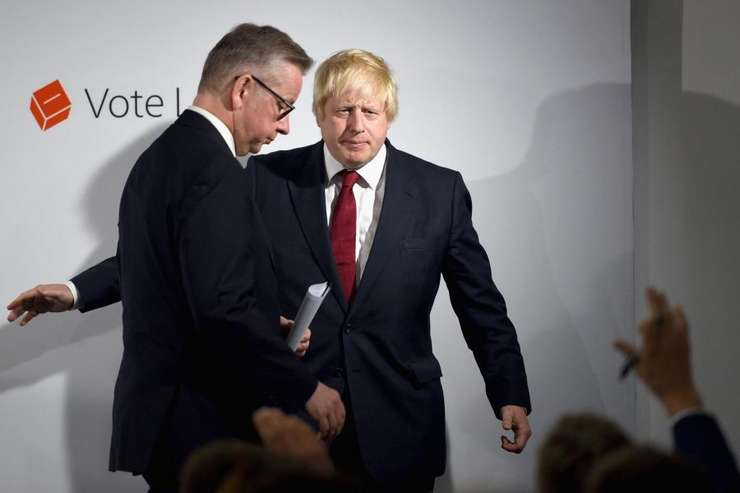 Michael Gove și Boris Johnson