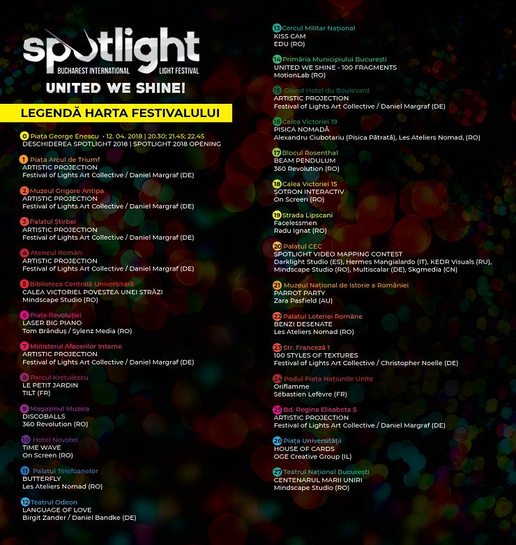 Harta și legenda 2 - Festival Spotlight 2018
