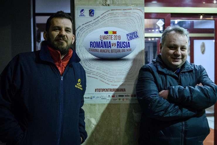 Horia Ungur și Andrei Zamfirescu