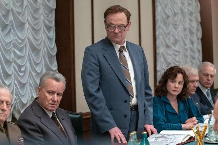 Imagine din filmul Chernobyl - o productie HBO.