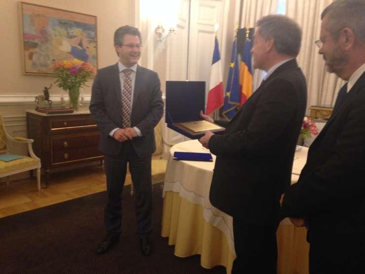 Premiu Politehnica ambasadorul Frantei