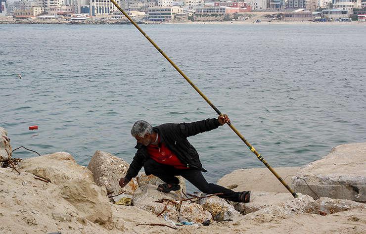 Pescar din Gaza