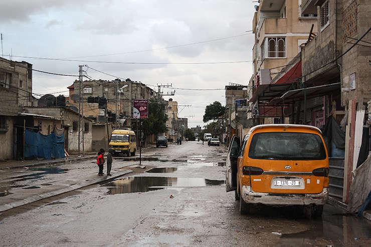 Tabara de refugiati din Gaza