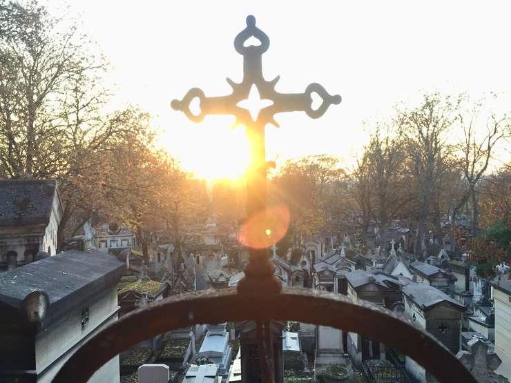 Cimitirul parizian Père-Lachaise.