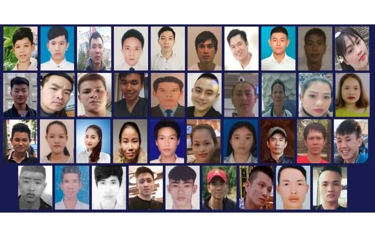 Imigranți vietnamezi morți