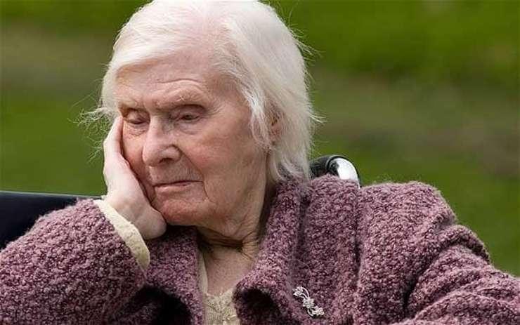 Persoană cu demență senilă