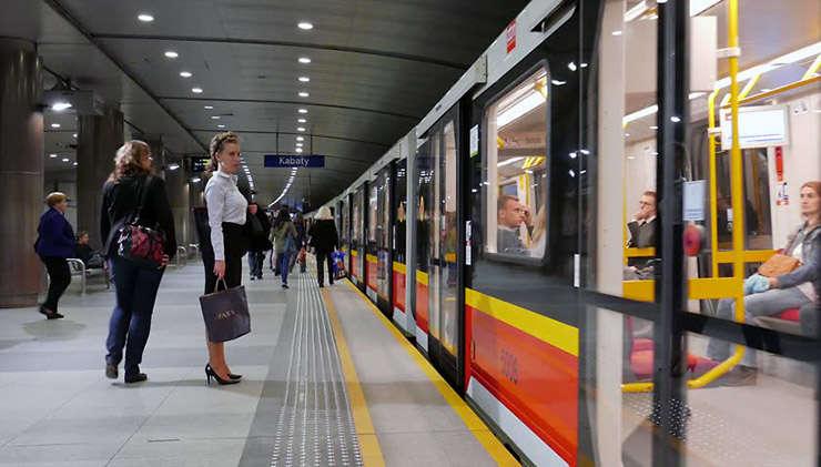 Interior stație metrou