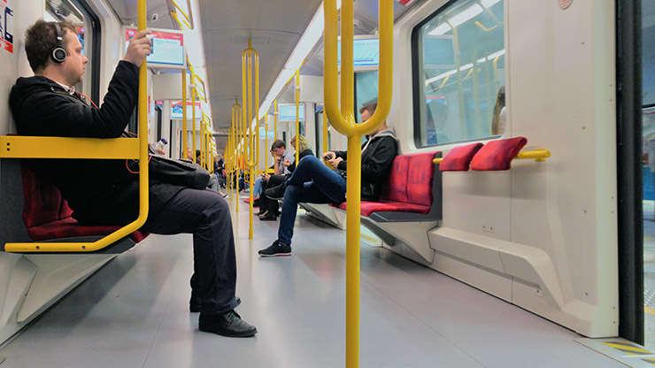 Interior metrou