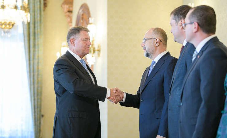 Klaus Iohannis primește delegația UDMR la Cotroceni (Sursa foto: presidency.ro)