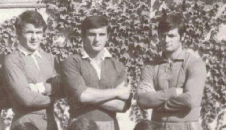 De la dreapta la stânga: Valeriu Irimescu, Mircea Munteanu, Mircea Ortelecan
