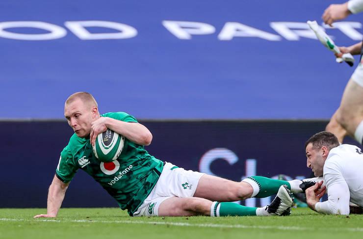 Irlanda 32 Anglia 18